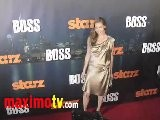 Connie Nielsen At BOSS Premiere Arrivals - STARZ New TV Series