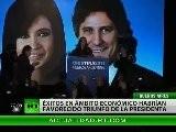 Cristina Kirchner Persevera En La Pol&iacute Tica Social Como &#039 Faro&#039 De Su Segundo Mandato