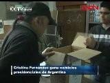 Cristina Fern&aacute Ndez Gana Comicios Presidenciales De Argentina