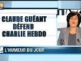 Claude Gu&eacute Ant D&eacute Fend Charlie Hebdo