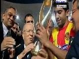 CL 2011 Finale Retour Esp&eacute Rance Sportive De Tunis Vs Wydad Casablanca 1-0
