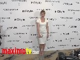 Cameron Richardson At Forevermark And InStyle Golden Globes 2012 Event EXCLUSIVE