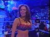 WWF - Torrie Wilson Vs 1 . Dawn Marie - Lingerie Match