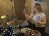 Drum Cover D&#039 Elie Des SCARLET SINS - Strange Love