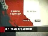 Derailed B.C. Train Leaking Corrosive Acid