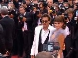 Depp + Penelope Cruz @ Pirates Of The Caribbean 4 Premiere