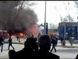 Double Explosion à Tashkent En Ouzbé Kistan