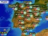 El Tiempo En Españ A Por CCAA, El Jueves 9 Y El Viernes 10 De Junio