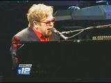 Elton John Performs At The James Brown Arena