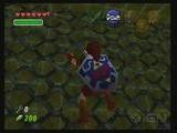 Fire Monster And Time Puzzle - Zelda: Ocarina Of Time - Fire Temple