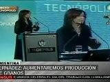 Fern&aacute Ndez Presenta El Plan Estrat&eacute Gico Agroalimentario