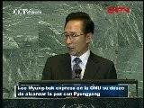 Lee Myung-bak Expresa En La ONU Su Deseo De Alcanzar La Paz Con Pyongyang