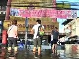 Floodwater Threatens Thai Capital