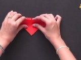 Fun And Simple Heart With Wings - Origami In Hindi