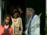 First Family Attends Church