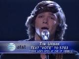 Finalist Tim Urban - American Idol 2010