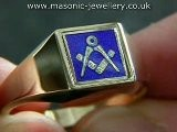 Gold Masonic Ring DAJ112