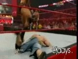 HBK & John Cena Vs Orton & Y2J 01 05 09 Part.2