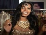 Hot & Sexy Natasha Suri In A Elegant Indian Bridal Outfit Design By Rohit Verma