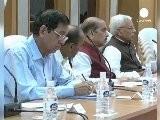 Hazare Contin&uacute A Su Huelga De Hambre En India