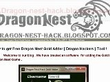 How To Download Dragon Nest Hacks 2011 ?