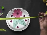 How To Make A Flower Basket - Arts & Crafts In Hindi