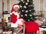 Heidi Klum And Imogen Thomas: Two Sexy Santas