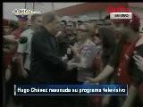 Hugo Ch&aacute Vez Reaunuda Su Programa Televisivo