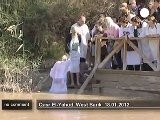 Baptism In The River Jordan - No Comment