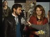ISABELLA RAGONESE E VINICIO MARCHIONI - Intervista PerFiducia 3 - WWW.RBCASTING.COM