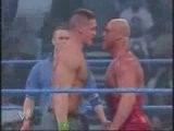 John Cena & Kurt Angle Vs The Basham Brothers