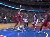 Jason Maxiell Picks Up The Rebound And Throws Down A Nasty D