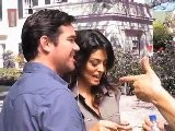 Juliana Paes E M&aacute Rcio Garcia No Set De Filmagens Do Filme Bed And Breakfast
