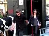 Justin Timberlake And Mila Kunis Get Cozy