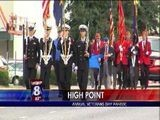 Veterans Day Parade In High Point