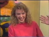 Kylie Minogue Tv Appearance At The Early Bird Show 1989