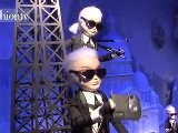 Karl Lagerfeld Christmas Window Display For Chanel | FTV