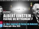 L&#039 Escroquerie D&#039 Einstein: La Relativit&eacute De Poincar&eacute Radio Courtoisie, 1991 05 08