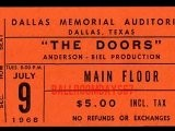Light My Fire - The Doors Live At The Dallas Memorial Auditorium, TX. July 9, 1968