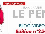 Le Journal De Bord De Jean-Marie Le Pen N&deg 254