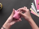 Learn To Make A Drinking Cup - Origami In Hindi