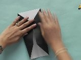 Learn To Make A Business Card Holder - Origami In Hindi