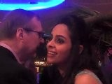 Bollywood Actress Mallika Sherawat & Paul Allen At Cannes Film Festival