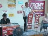 Meeting Du Front De Gauche &agrave Corbeil-Essonnes