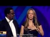 Mariah Carey Ivre Sur Sc&egrave Ne