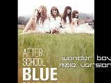 MP3 DL After School Blue - Wonder Boy Male Version