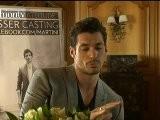 Male SuperModel David Gandy Launches Kisser Casting