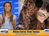 Miley Cyrus&#039 New Tattoo
