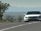 Mercedes-Benz B 180 CDI Cirrus White Driving Event Vienna Austria