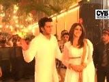 Mom To Be Aishwarya W Abhishek Celebrate Diwali - 2011